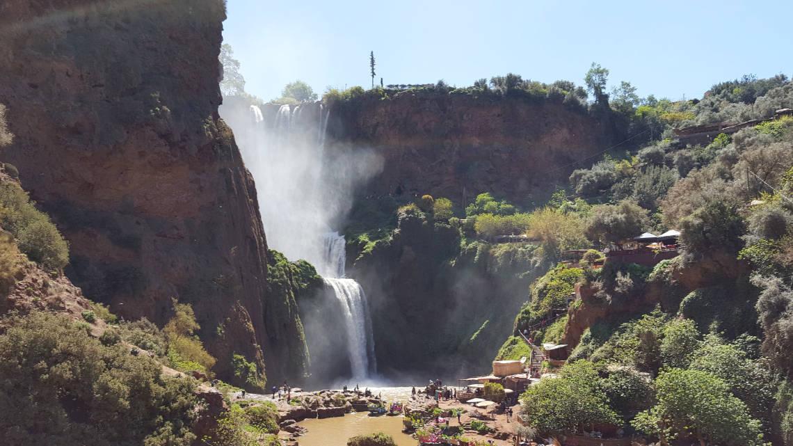 Les impressionnantes cascades d'Ouzoud