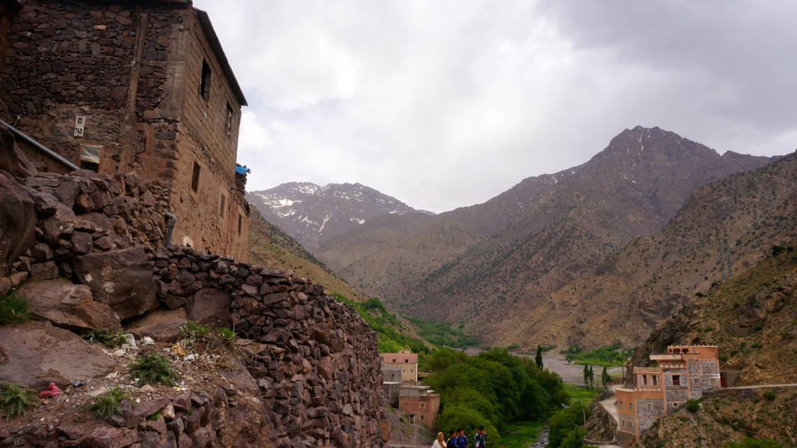 Village typique de montagne