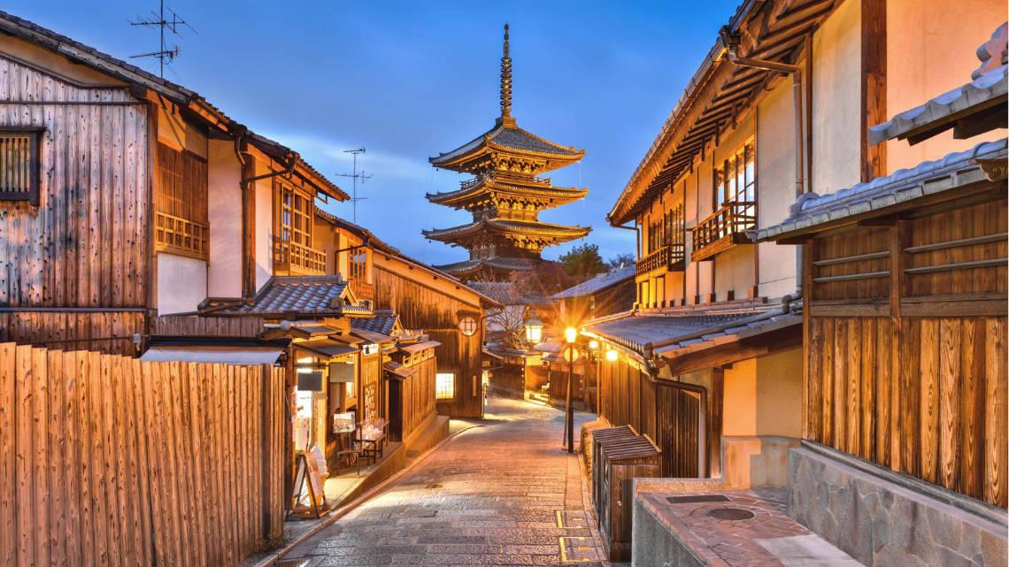 Quartier de Higashiyama à Kyoto