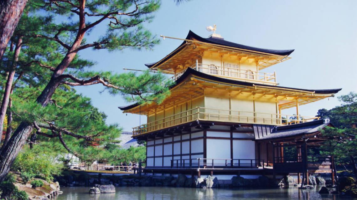 Temple du pavillon d'or à Kyoto