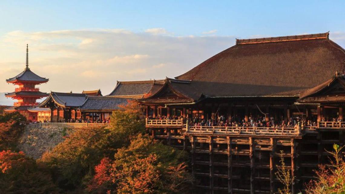 Kiyomozu dera : le temple de l'eau pure
