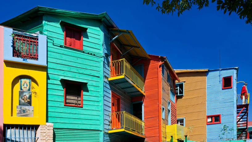 La Boca : quartier pauvre de Buenos Aires