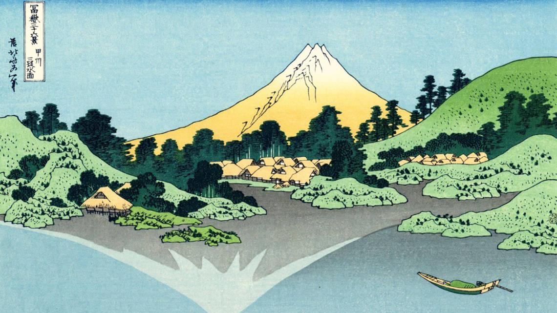 Le Mont Fuji, par Hokusai