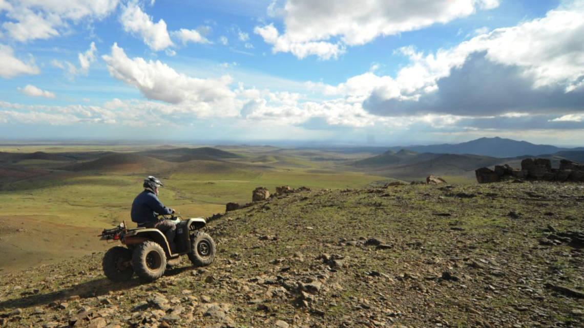 Faire du quad dans le désert des Jbilets