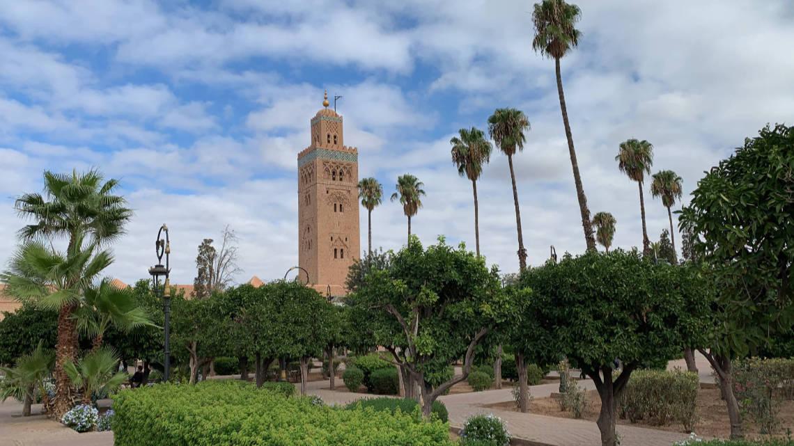 Mosquée de la Koutoubia et son minaret