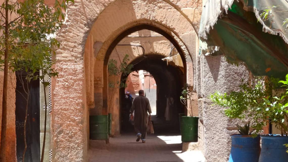 Petite ruelle de la médina de Marrakech