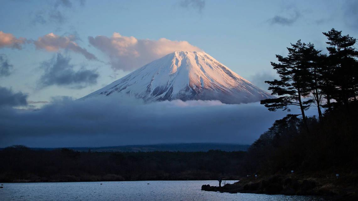 Lever de soleil sur le Mont Fuji