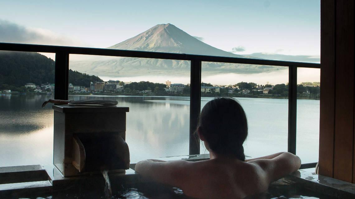 Dormir dans un ryokan au Mont Fuji