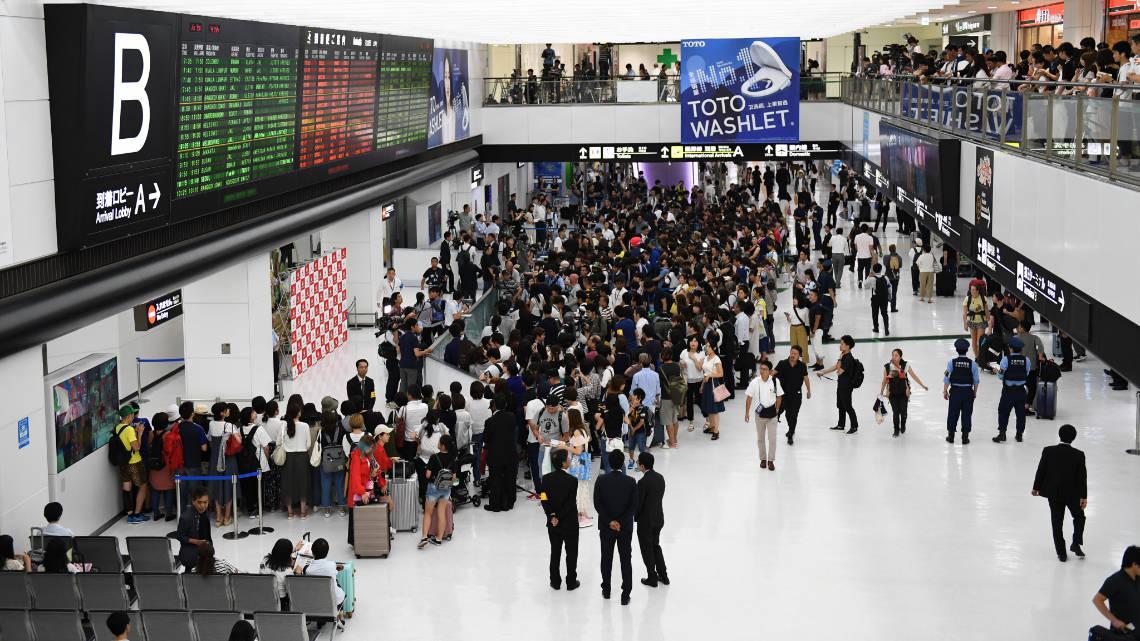 Aéroport de Narita à Tokyo