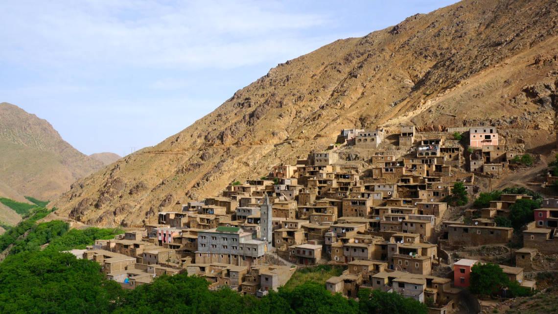 Imlil est un petit village au pied de l'Atlas marocain